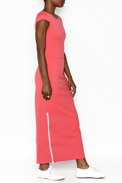 odAOMO Coral Bareback Maxi Dress - Product List Image