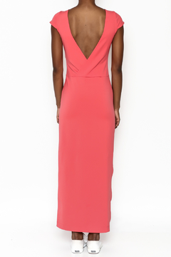 odAOMO Coral Bareback Maxi Dress - Alternate List Image