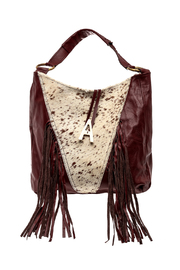 odAOMO Fringed Hobo Bag - Product Mini Image