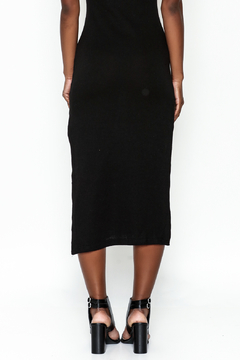 odAOMO Navy Midi Skirt - Alternate List Image