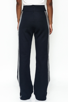 odAOMO Tuxedo Wide Leg Pants - Alternate List Image