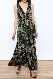 Odd Molly Floral Paisley Maxi Dress - Product Mini Image