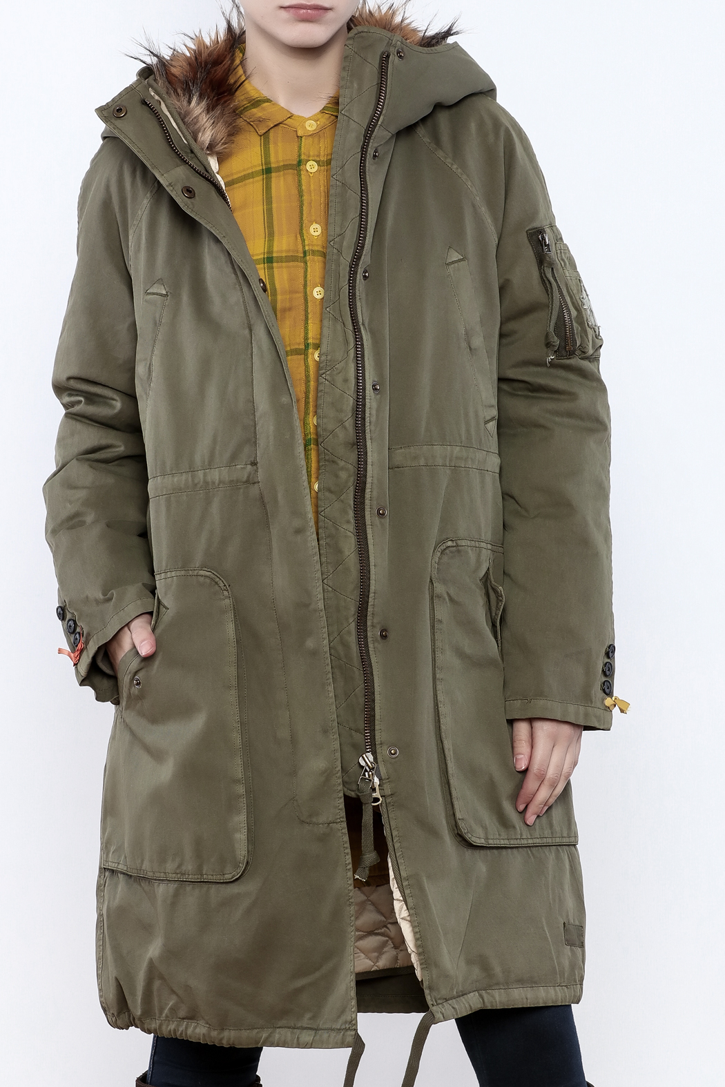 Odd Molly Igloo Parka - Front Cropped Image
