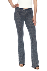 Odd Molly Knit Indigo Bootcut Legging - Product Mini Image