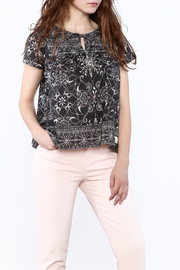 Odd Molly Paisley Peasant Blouse - Front cropped