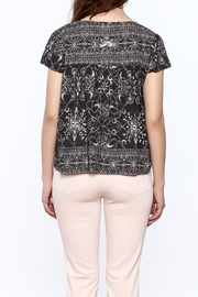 Odd Molly Paisley Peasant Blouse - Back cropped