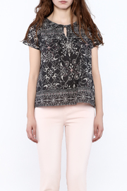 Odd Molly Paisley Peasant Blouse - Side cropped