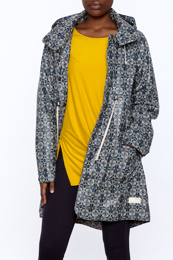 Odd Molly Printed Rain Jacket - Main Image