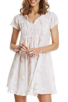 Odd Molly Cream White Dress - Product List Image