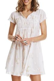 Odd Molly Cream White Dress - Product Mini Image