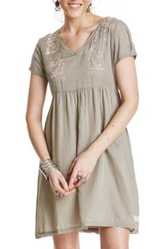 Odd Molly Sage Embroidered Dress - Product List Image