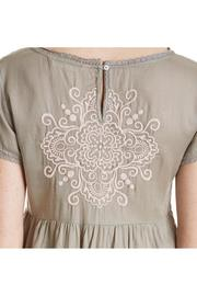 Odd Molly Sage Embroidered Dress - Side cropped