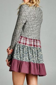 Oddi Bohemian Ribbed Cardigan - Alternate List Image