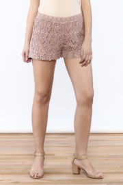 Oddi Crochet Shorts - Front cropped