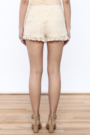 Oddi Crochet Shorts - Back cropped