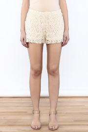 Oddi Crochet Shorts - Side cropped