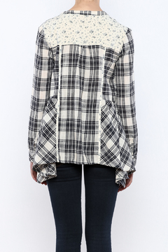 Oddi Easy Style Plaid Tunic - Alternate List Image