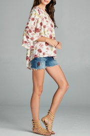 Oddi Floral Blouse - Front full body