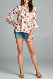 Oddi Floral Blouse - Front cropped