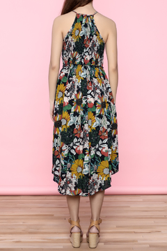 Oddi Floral Midi Dress - Alternate List Image