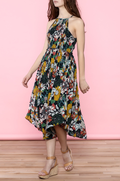 Oddi Floral Midi Dress - Product List Image