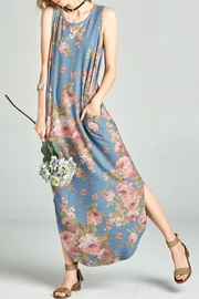 Oddi Floral Maxi Dress - Front cropped