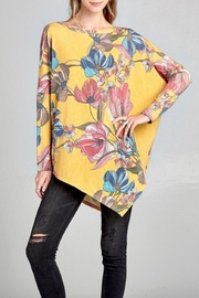 Oddi Floral Print Top - Product Mini Image