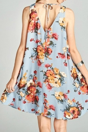 Oddi Floral Swing Dress - Front full body