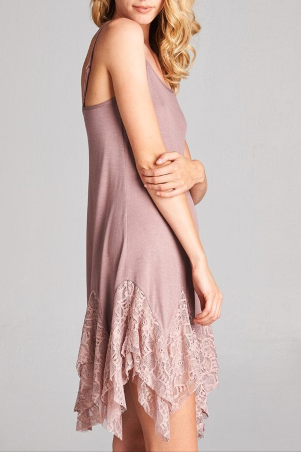 Oddi Lace Cami Extender - Side Cropped Image