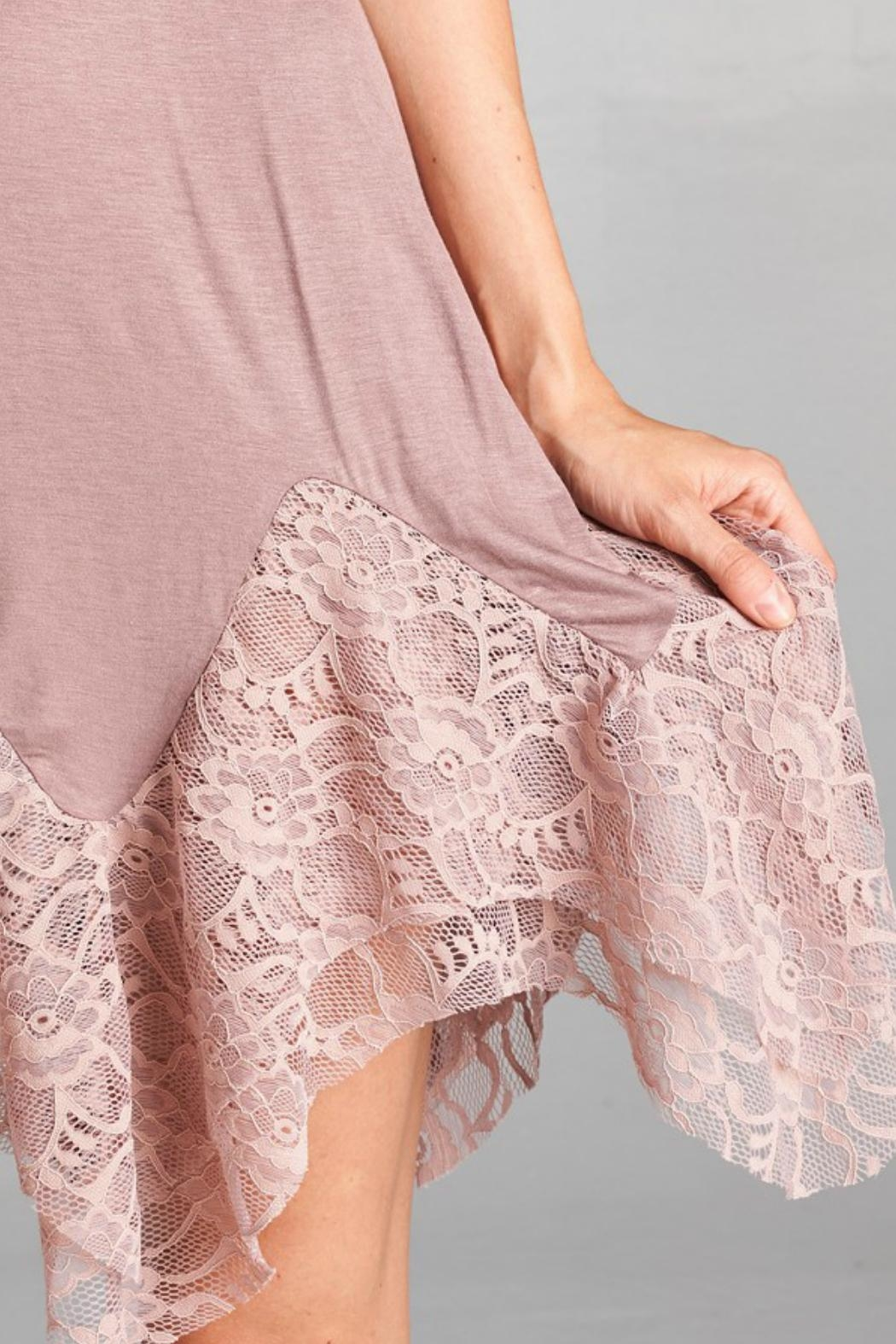 Oddi Lace Cami Extender - Back Cropped Image