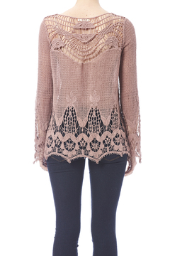 Oddi Mauve Crochet Top - Alternate List Image
