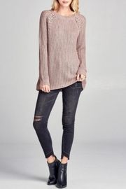 Oddi Mauve Sweater - Product Mini Image