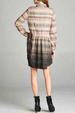 Oddi Ombre Shirt Dress - Alternate List Image