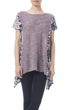 Oddi Purple Floral Top - Product List Image