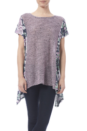 Oddi Purple Floral Top - Product Mini Image