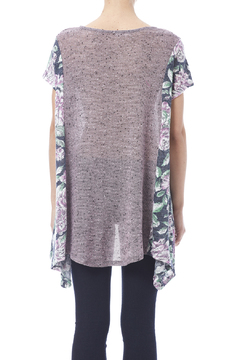 Oddi Purple Floral Top - Alternate List Image