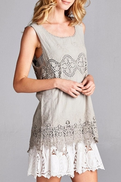 Shoptiques Product: Romantic Tunic Tank Top