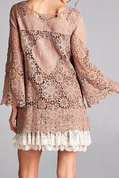 Oddi Romantic Lace Tunic Top - Alternate List Image