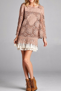 Oddi Romantic Lace Tunic Top - Product List Image