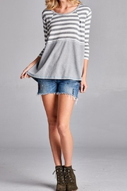 Oddi Stripe Top - Product Mini Image