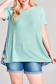Oddi Surprise Floral Top - Product Mini Image