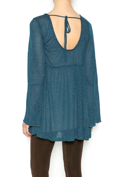 Oddi Teal Babydoll Tunic - Alternate List Image