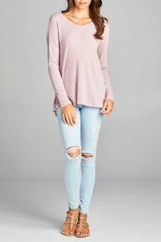Oddi Twisted Back Top - Front cropped