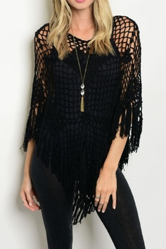 Shoptiques Product: Crocheted Poncho