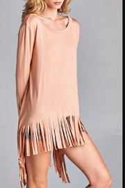 Oddy Loose Fringe Tunic - Front cropped