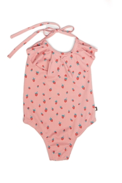 Oeuf Halter Flower Swimsuit - Alternate List Image