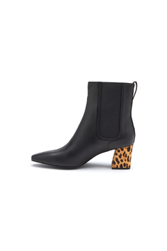 Shoptiques Product: Off Duty Bootie w Leopard Heel