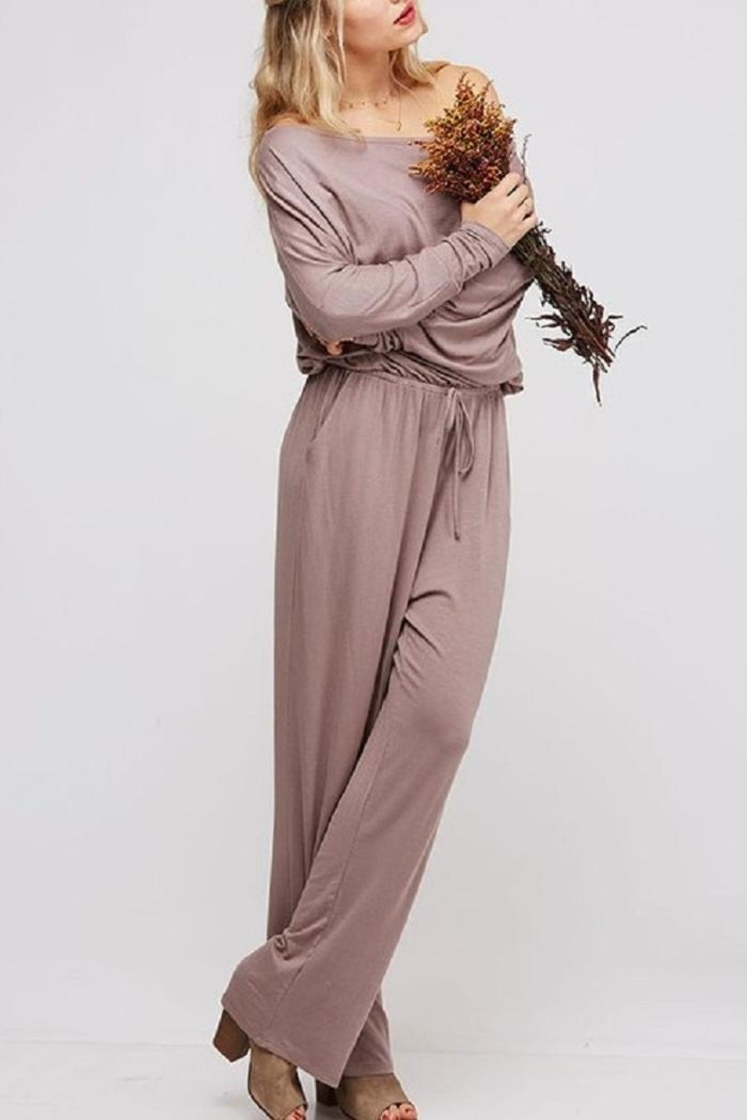 Fantastic Fawn Off & On Jumpsuit - Main Image