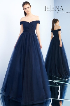 Mac Duggal Off-Shoulder Ball Gown - Product List Image