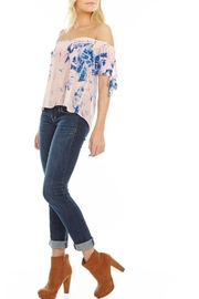 Mary & Mabel Off Shoulder Blouse - Front full body